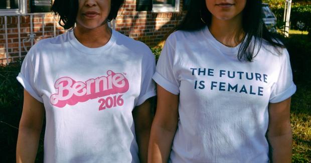 bernie barbie & the future is female 1